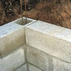 chaînage d'angle mur en parpaing