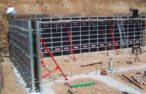 banches modulaires pour béton banché