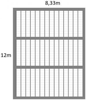 plan de pose plancher poutrelle hourdis