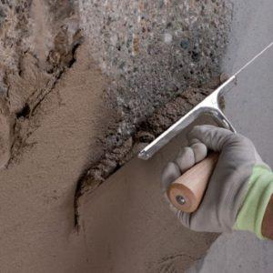 Réparation d'un mur