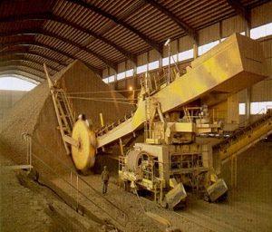 préhomogénéisation du ciment