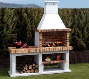 barbecue brique et béton