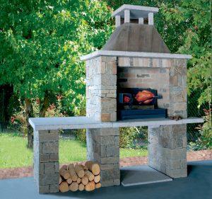 barbecue en pierres